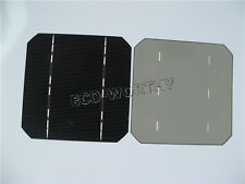 20pcs 125x125mm Mono high power solar cells for DIY 50W solar panel 2.6W/pcs