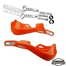 Universal Brush Bar Hand Guard Handguard Protect Orange For KTM SXF EXC XCW XCFW