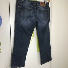 Lucky Brand Women's Cropped Jeans Size 6 / 28 Lody Crop