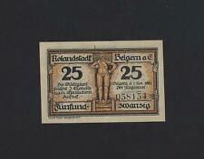 Germany -   Belgern 25 Pfennig 1921 NOTGEL UNC
