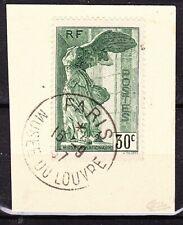 FRANCE - Semi moderne  - Samothrace - 1937 - N° 354 sur fragment signé Calves