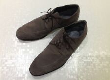 HUGO BOSS Men's Brown lace-up Suede Shoes UK Size '8'