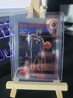 2019-20 NBA Hoops Premium Stock Zion Williamson Rookie RC Base Tribute #296