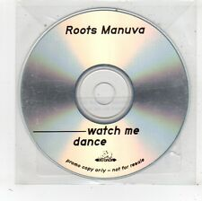 (FV728) Roots Manuva, Watch Me Dance - DJ CD