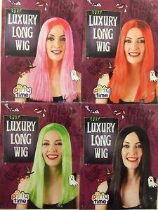 Halloween Lady , Girl , Boy , Man wig Fancy Dress Party Horror 1st class post UK