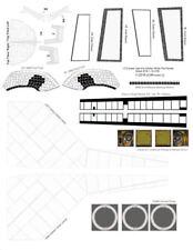 1/72 scale Late Era Shuttle Orbiter White Tile Decal Sheet