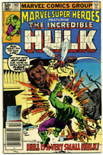 MARVEL Super-Heroes N°102 d'octobre 1981 : THE INCREDIBLE HULK