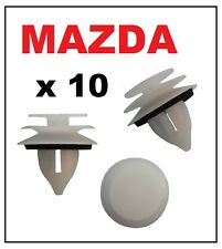 10 x MAZDA Door Card Interior Trim Panel Retainer Clip Fastener with Washer
