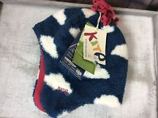 Bnwt £10.00 Kite Clothing Age 0 - 12 M Organing Cotton Soft Fleece Spotty Hat