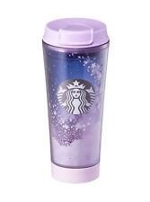 Starbucks Korea 2017 limited edition cherry blossom LED tumbler (355ml)