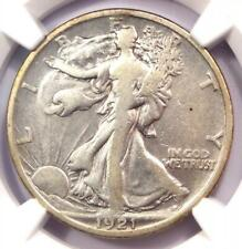 1921-S Walking Liberty Half Dollar 50C - Certified NGC VF Details - Rare Date!