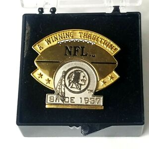 REDSKINS Limited Edition 5/5000 Pin A Winning Tradition Since 1937 NFL Peter Dav