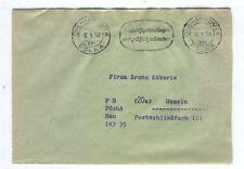 Cover B80 Germany 1958 Berlin Hannover