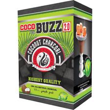Starbuzz COCOBUZZ Premium 2.0 Large Coconut Shisha Hookah Charcoal Coal 72pcs