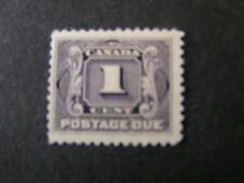 Canada, Scott # J1, 1c. Value Violet 1906-28 Postage Due Issue Mnh