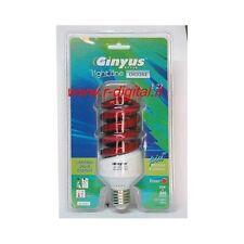 LAMPADA ORIONE E27 25W COLORE ROSSO LAMPADINA COLORATA RISPARMIO CLASSE A RGB
