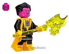 LEGO SUPER HEROES DC COMICS - MINIFIGURA SINESTRO SET 76025 ORIGINAL MINIFIGURE