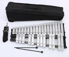More details for aluminum 30 note glockenspiel mallets percussion leisure gift music training