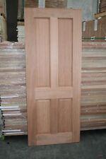 Solid Meranti 4 Panel Door 820mm x 2040mm x 35mm
