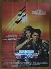 Top Gun Original Vintage Poster Movie Theater Promo Pin-up Ad Huge 1980s Classic
