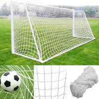 Durable Football Soccer Goal Post Net Mini Match Training Tool Door Full Size QL