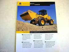 New Holland LW130 Wheel Loader Color Sales Sheet From 1999