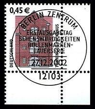 BUND SWK-Euro 0,45 €, Mi. 2299 - Eckrand u.r. mit ESST (Tönninger Packhaus)