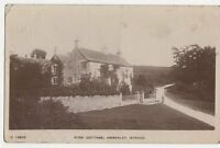 Rose Cottage Amberley Stroud 1918 RP Postcard  206a