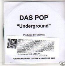 (M525)  Das Pop, Underground - DJ CD