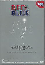 """RED & BLUE"" THE HISTORY OF MELBOURNE FOOTBALL CLUB - AFL 1939-2005 DVD"