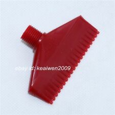 5pcs Red ABS Air Blower Air Nozzle Air Knife Wind Nozzle 1/4'' bspt 20 holes