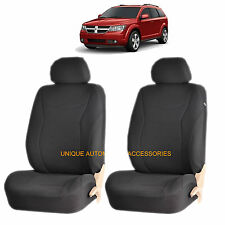 BLACK SPEED AIRBAG COMPATIBLE FRONT LOWBACK SEAT COVERS for DODGE RAM CHARGER