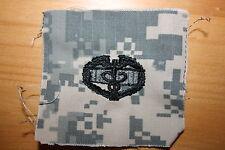 U.S. CURRENT AFGHAN ACU CMB COMBAT MEDIC QUALIFICATION BADGE SUBDUED CLOTH US