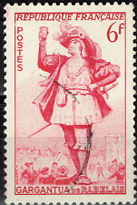 France Art Famous François Rabelais' Gargantua stamp
