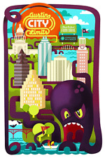 Austin City Limits 2012 poster by Anthem Branding *Charity Item*