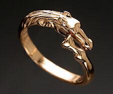 Bague  Tête et Sabot de CHEVAL  -  Ring with HORSE