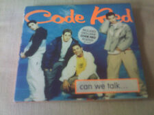 CODE RED - CAN WE TALK - CD SINGLE & POSTER
