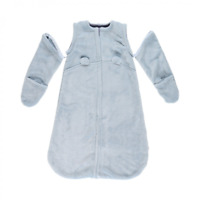 Noukie's Gigoteuse Nomade douce & chaude  Groloudoux Bleu 70 cm  1 à 6 mois NEUF