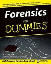 Forensics for Dummies® by D. P. Lyle (2004, Paperback)