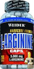 Weider L-arginina Berretto Contenitore con 200 Capsule ( pro 1000 g)