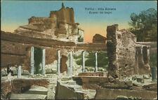 cartolina TIVOLI villa adriana-avanzi dei bagni
