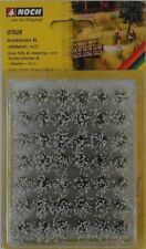 NOCH 07028 Blooming White Grass Tufts XL (42) 12mm 00/H0 Model Railway