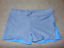 M&S 2-Tone Stretch Trunks Style Swim Shorts 7-8y 9-10y 11-12y 13-14y NavyMixBNWT