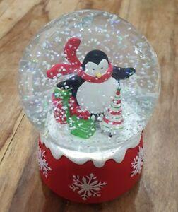 Musical Penguin Snow Globe