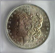 1880-O MORGAN SILVER DOLLAR ICG MS63 BETTER DATE! VALUED AT $425!