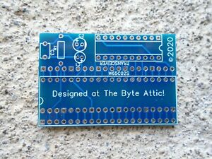 *NEW* VIC20 CPU 6502 to W65C02S CPU Commodore VIC-20 Adapter Board