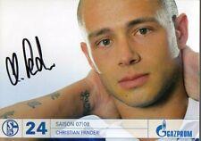 Autogramm - Chrstian Pander (FC Schalke 04) - 2007/2008