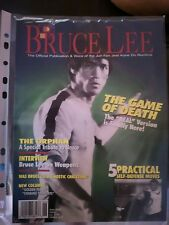 BRUCE LEE , NUCLEUS MAGAZINE JUNE 2000. THE GAME OF DEATH.  NEW.
