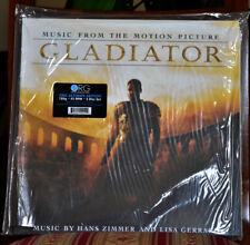 """AUDIOPHILE ORG Hans ZIMMER & Lisa GARRARD """"Gladiator"""" 2LP 180g LOW No.#19 SEALED"""