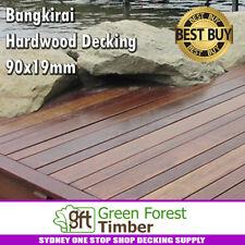 Bangkirai Hardwood Decking 90x19mm